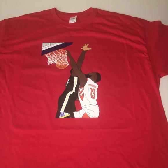 official photos 4d6c0 d3afe Houston Rockets James Harden Shirt NWT